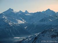 Matterhorn in der Mitte
