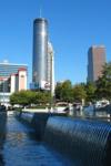 Sicht aufs Westin vom Olympic Parc, Atlanta