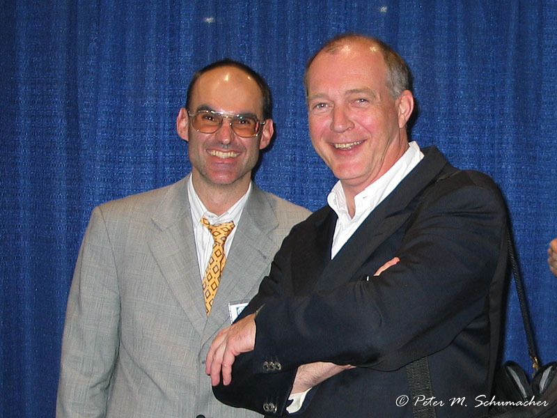 Thomas Bouillon und Prof. Hoeft