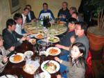 und Essen mit der 'Berner' Gruppe im Azio