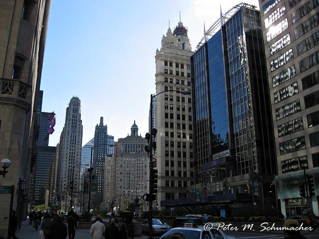 Michigan Avenue - shopping paradise