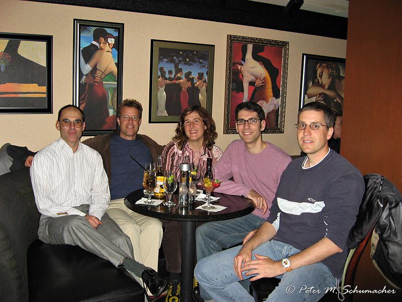 meeting in John Hancock's 95th level bar, Chicago