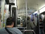 in the CTA bound for O'Hare, goodbye Chicago