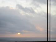 sunset on Golden Gate Bridge