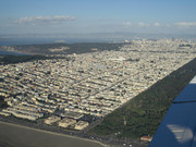 San Francisco und Teil des Golden Gate Park'