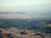 Blick in die Bay, Sicht bis nach San Francisco
