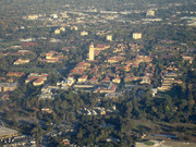 Stanford Campus, Main Quad and Hoover Tower