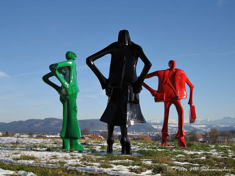 Kunst in Kirchlindach - Strassenleute