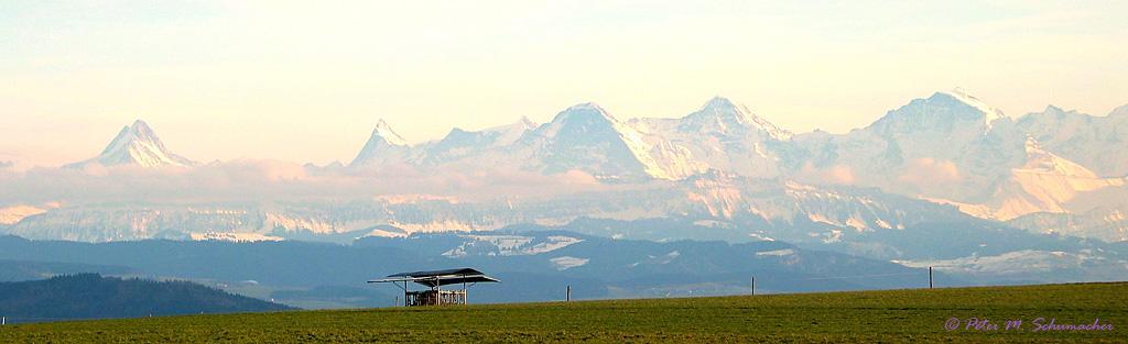 Alpenpanorama Kirchlindach