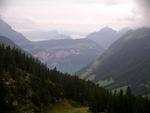 Trotz Nebel Blick bis nach Luzern