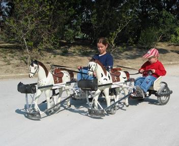 Ben Hur und Schwester in Avignon