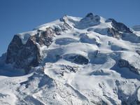 Monte Rosa vom Gornergrat aus