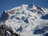Monte Rosa vom Schwarzsee aus