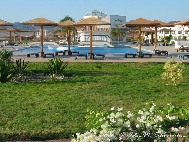 Lahami Bai Beach Resort, der Pool