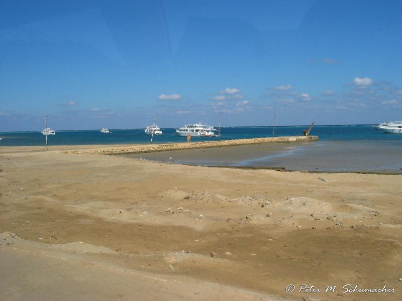 Hafen von Marsa Alam, immer noch gleich schlecht ausgebaut wie in 2002!