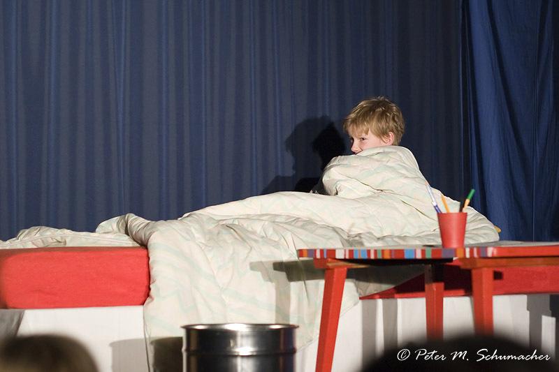 heute hat Herr Taschenbier den ganzen Tag geschlafen
