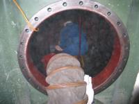 Reinigung und Austrocknung des Tanks